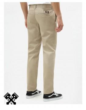 Dickies Pantalones 872 Slim Fit Khaki, trasero
