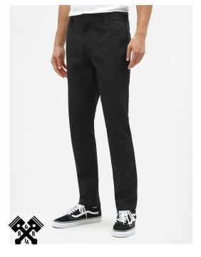 Dickies Slim Fit 872 Black Pants, front