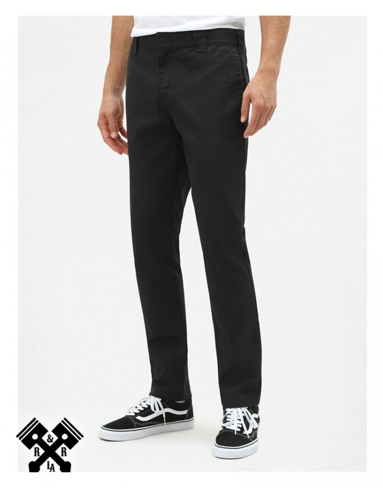 Dickies Pantalones 872 Slim Fit Negro, delante