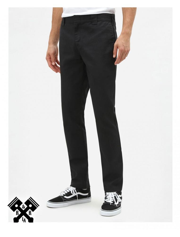 Dickies Slim Fit 872 Black Pants, front