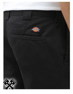 Dickies Pantalones 872 Slim Fit Negro, detalle trasero