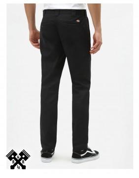 Dickies Pantalones 872 Slim Fit Negro, detras