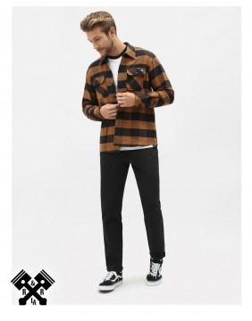 Dickies Slim Fit 872 Black Pants, model