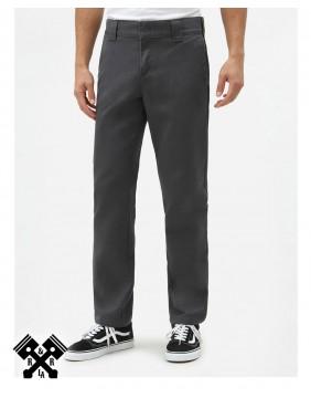 Dickies Slim Fit 872 Charcoal Grey Pants, front