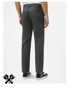 Dickies Pantalones 872 Slim Fit Gris, trasero