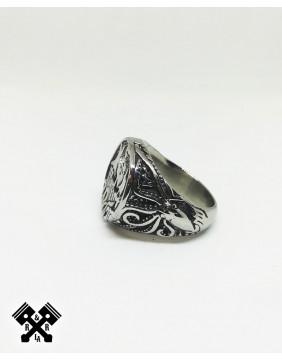 Anillo Acero Vikingo, izquierdo