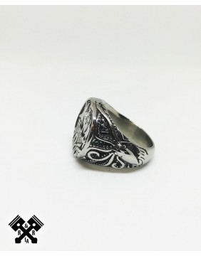 Viking Steel Ring, left