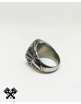 Anillo Acero Vikingo, diagonal