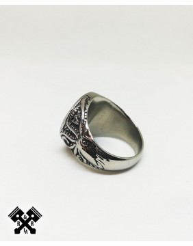 Viking Steel Ring, diagonal