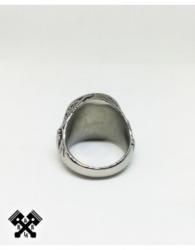 Viking Steel Ring, back