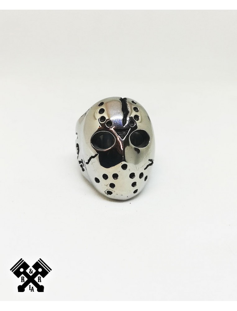 Friday the13th Steel Ring, front view