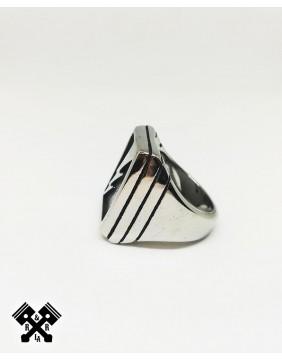 Lightning Steel Ring, left