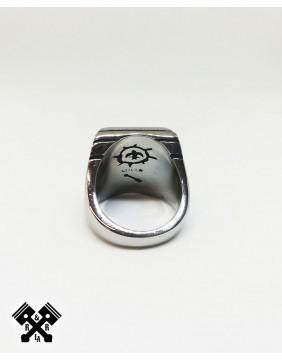 Lightning Steel Ring, back