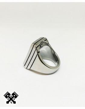Lightning Steel Ring, diagonal