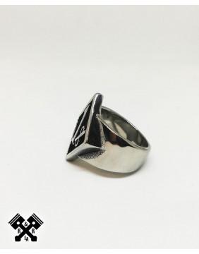 Original 1% Steel Ring, profile view