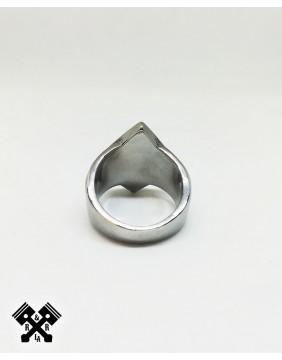 Original 1% Steel Ring, rear view