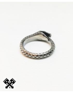 Snake Steel Ring, back