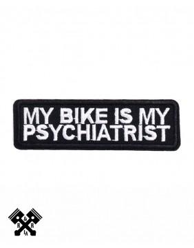 My Bike is my Psychiatrist Patch