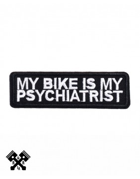 parche my bike is my psychiatrist