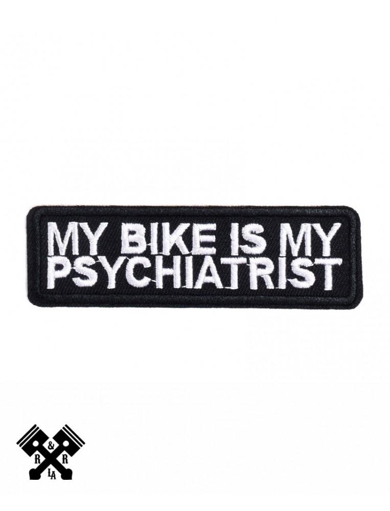 parche my bike is my psychiatrist