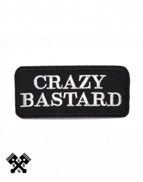 Parche Crazy Bastard
