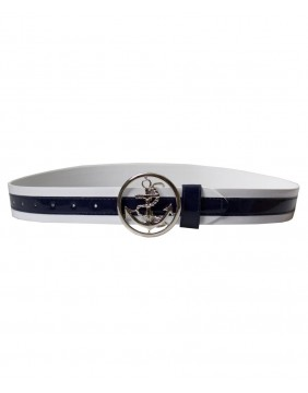 Collectif Skipper Belt Dark Navy
