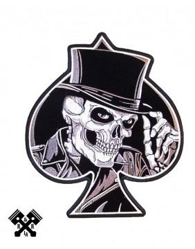 Skeleton Ace of Spades Patch