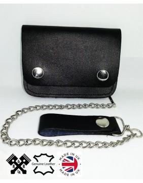 Unisex Small Biker Wallet, front