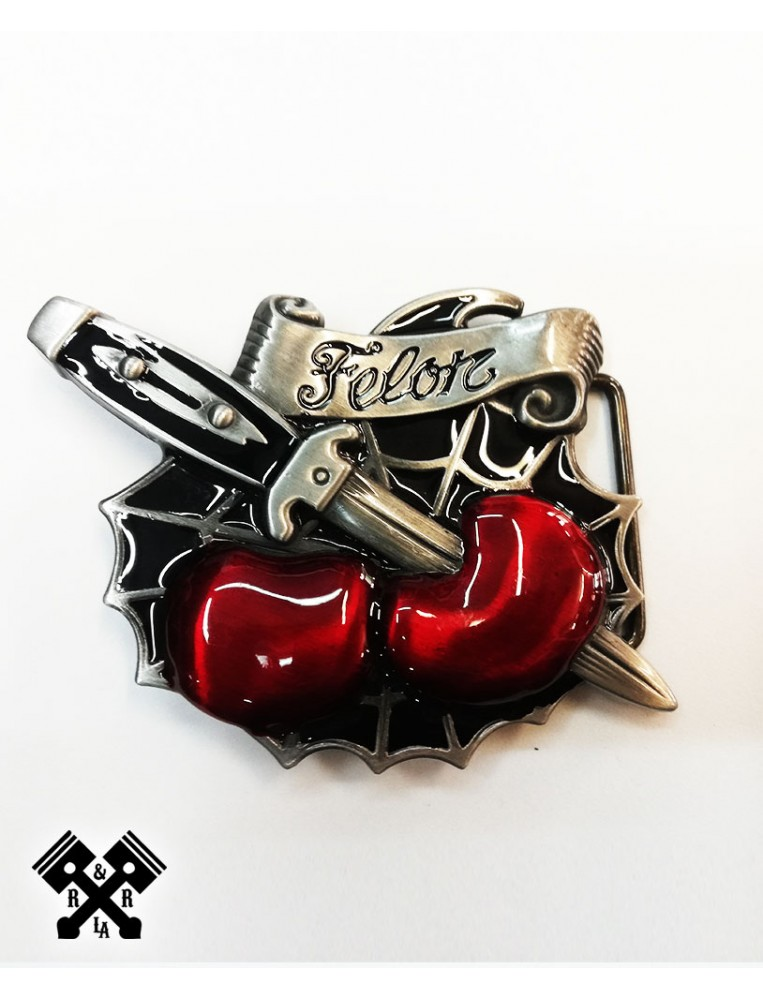 Hebilla Cinturon Felon, frontal