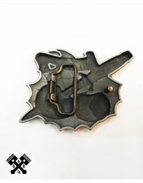 Hebilla Cinturon Felon, trasera