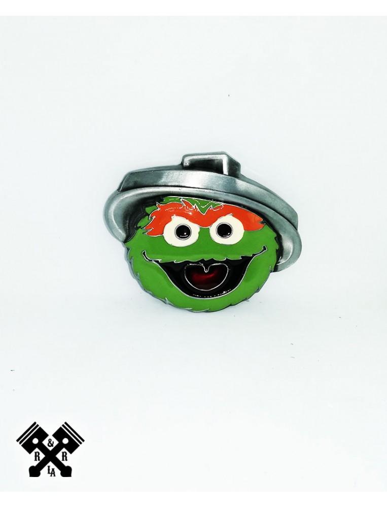 Oscar Sesame Belt Buckle, front