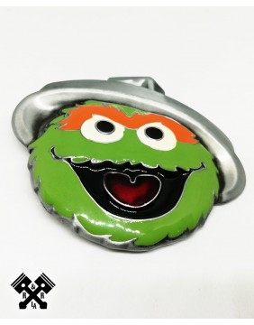 Oscar Sesame Belt Buckle, detail front