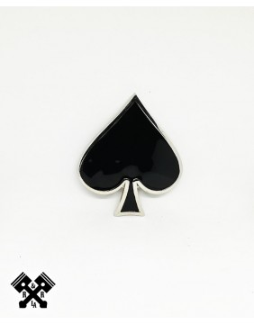 Ace of Spades Belt Buckle, front view