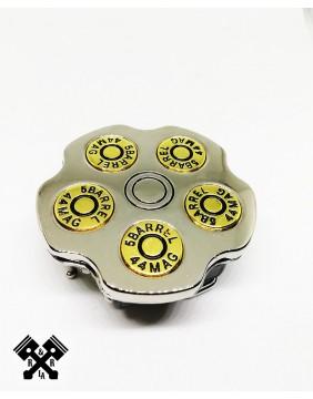 Hebilla Cinturon Revolver, vista frontal