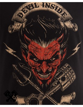 King Kerosin Devil Inside T-shirt, print
