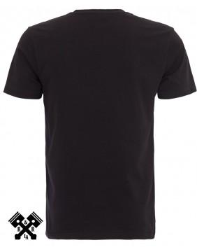 King Kerosin Born Bad T-shirt, back