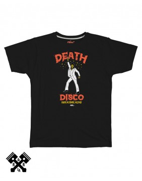 Camiseta Death Disco negra, marca FBI