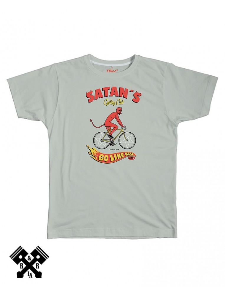 Camiseta Go Like Hell gris, marca FBI
