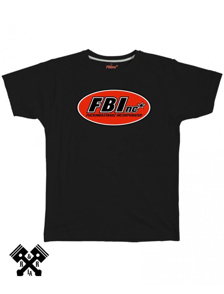 FBI Camiseta F. Bastardz Inc.