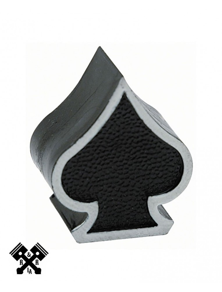 Ace of Spades Valve Stem Caps