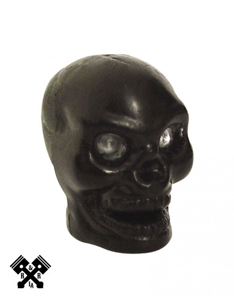 Black Skull Valve Stem Caps