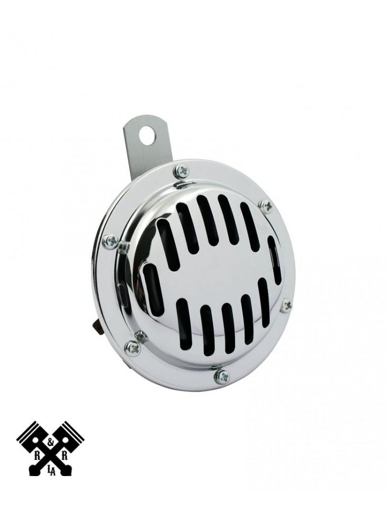 Universal Round Horn Chrome