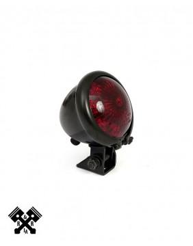 Bates Style Universal LED Tail Light Black