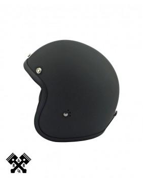 Bandit Jet Helmet Black Flat, profile