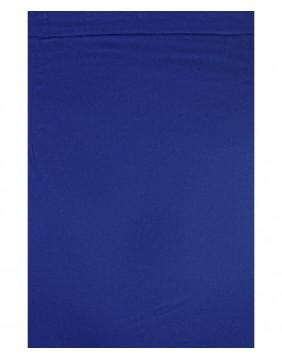Falda Tubo Polly Clásica Azul, marca Collectif, detalle
