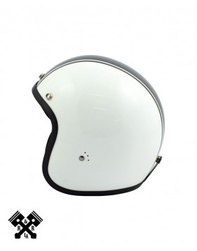 Bandit Jet Helmet Matte White/Black, profile