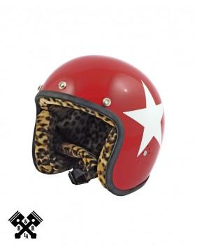 Bandit Jet Helmet White Star, front