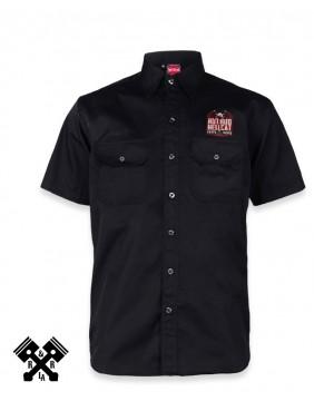 Hotrod Hellcat Speed Death Work Shirt front