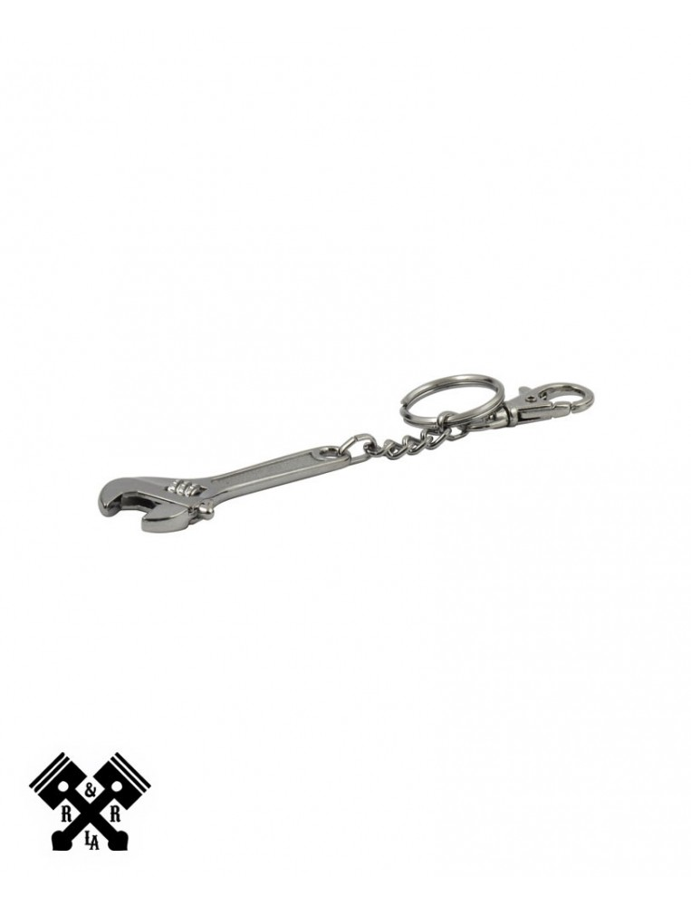 Adjustable Wrench Keychain