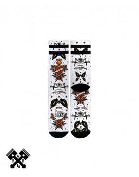 American Socks Calcetines You Sock Medio-Alto, detalle impresión